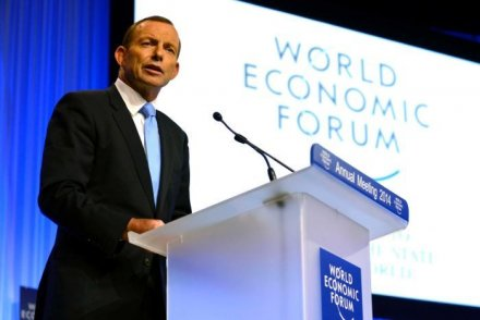 Tony Abbott uses address to World Economic Forum in Davos to promote virtues of free trade |  Australia-澳洲唐人街