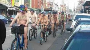 世界裸体自行车日一一疯狂的墨尔本-澳洲唐人街