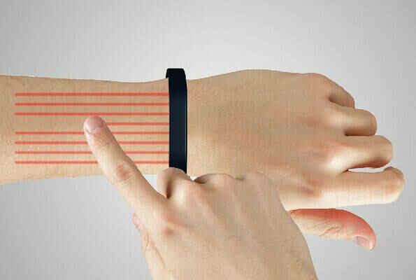 苹果也跪了:手臂变屏幕 最牛可穿戴智能手环-澳洲唐人街