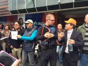 今天你走开,下一个受辱的也许就是你!在澳华人同胞,站出来…-澳洲唐人街