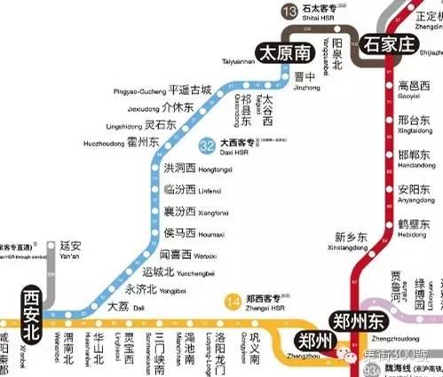 毫不迟疑的收了!哪位神人把全国高铁图画得象坐地铁一样方便!-澳洲唐人街