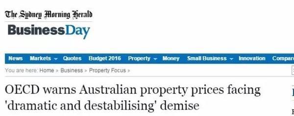 狼真来了?澳洲政府发布楼市最高预警 中国投资者可能血本无归-澳洲唐人街