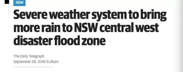 澳媒报道:澳洲将迎来50年一遇的「最恶劣」天气,南澳将成为重灾区!-澳洲唐人街