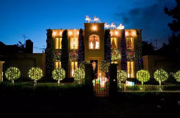 最震撼!墨尔本著名的Boulevard街年度圣诞灯展在即!-澳洲唐人街