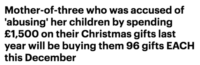 一位妈妈圣诞节竟然给小孩准备了300份礼物,孩子们拆礼物拆到手抽筋⋯⋯-澳洲唐人街