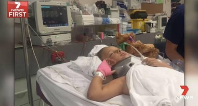 澳洲一8岁小女生意外摔倒,医院检查说并无大碍,两天后却被告知脖子多处骨折,差点瘫痪!-澳洲唐人街
