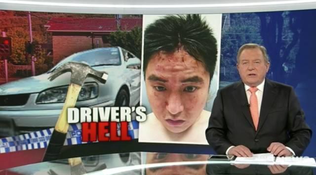 墨尔本华人在深夜差点被錘子打死,2名劫车贼恶性撞车抢劫!-澳洲唐人街