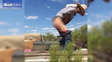 找死系列:45度高温下,澳洲男们光屁股坐到暴曬在太阳光下的工具箱上,这个挑战很销魂⋯⋯-澳洲唐人街