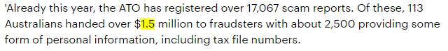警惕:澳洲报税季,冒充税务局诈骗语音曝光,已有17000起报案,113人被卷走$150万-澳洲唐人街