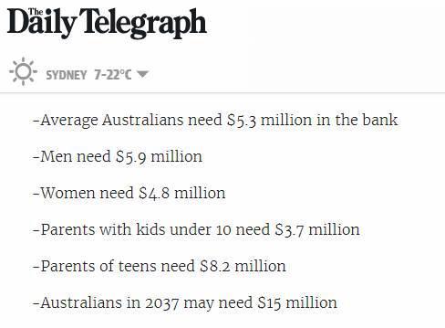 最新调查:在澳洲成人每週最少要600澳元才能正常生活-澳洲唐人街