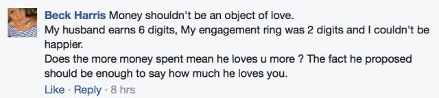 男友年薪6位数,求婚钻戒却只买$2000的!女生發文抱怨,结果被澳洲新娘们圍攻-澳洲唐人街