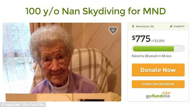 14000英尺的高空处,这个澳洲101岁老奶奶往下一跳,打破了世界紀錄-澳洲唐人街