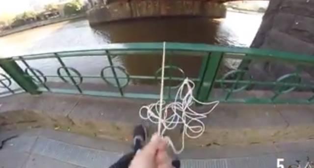 墨爾本最近的新風潮竟然是自行車垂釣⋯⋯-澳洲唐人街
