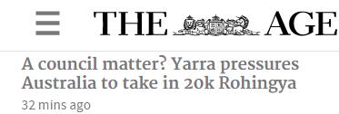 墨尔本市政府要引进20,000难民,立刻获PR!你怎樣看?-澳洲唐人街
