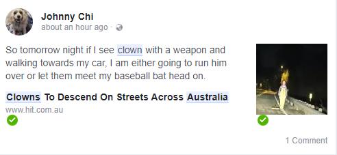 恐怖小丑发警告,10月6日起发动攻击,昆州、墨尔本及全澳统统被点名-澳洲唐人街