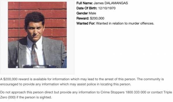 澳警方公佈十大通緝犯:懸賞最高20萬澳幣-澳洲唐人街