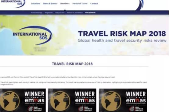 全球最危险旅遊国家地图发佈,澳洲很安全,但有几个国家你最好避开-澳洲唐人街