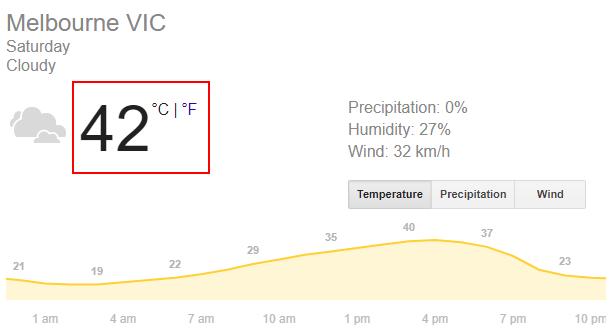 今天42度,兩年最熱!墨爾本一段10公里高速路熱化了,真事!-澳洲唐人街