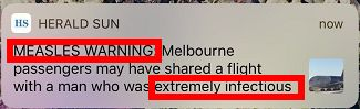 最近到過墨爾本機場的人注意:小心烈性傳染病-澳洲唐人街