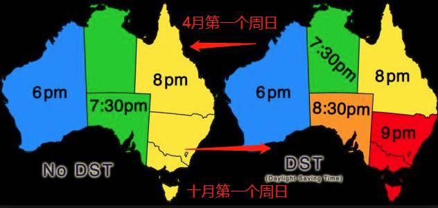4月1日結束夏令時,可多睡1小時!與國內時差降為2小時啦-澳洲唐人街