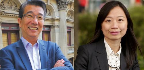 Wang Zongjian le Yang Qianhui ba ntseng ba emela ramotse oa Melbourne ..... Tlaleho ea ka ea Karolo ea Lipolotiki - E sa tsejoeng - 28/04/2018