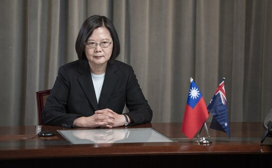Tsai Ing-wen's Australian think tank gives a speech calling on Taiwan and Australia to strengthen cooperation